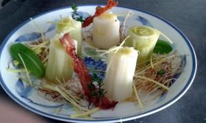 Poireaux en trois façons - magg kitchenette ©