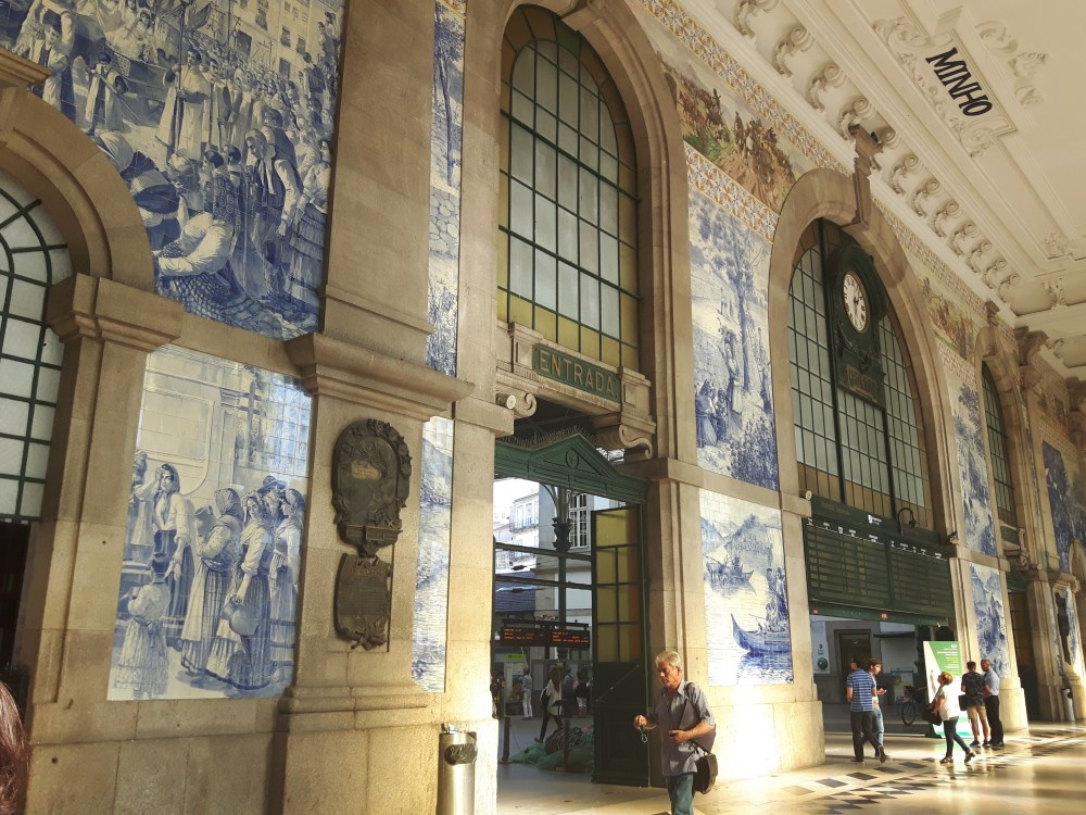 La gare de São Bento...et les azulejos!