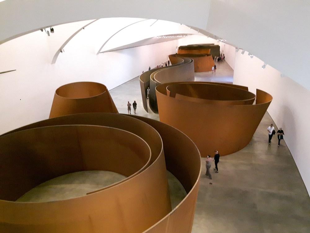 """""""la matière du temps"""", de Richard Serra"""