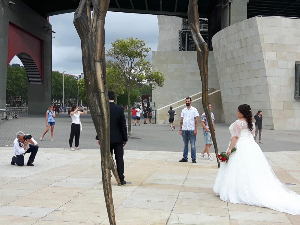Le Musée Guggenheim décor original pour tous les souvenirs...