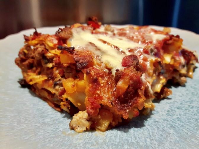 Les lasagnes des Gourmands.
