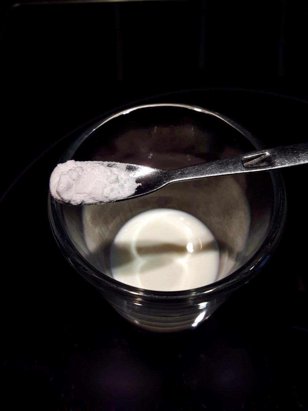 Spatule de maïzena