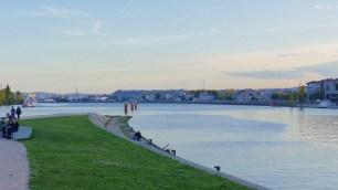 Confluence de la Saône et du Rhône