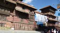 Les bâtiments ont souffert du séisme