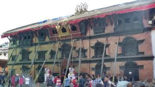 Façade du Kumari Bahal