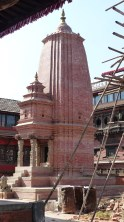 Sikhara de Kedarnath, dédié à Shiva