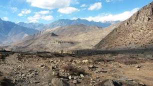 Les paysages sont désertiques