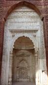 Détail du Mirab dans l'un des mausolées du site