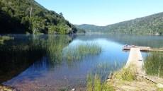 Les eaux du Lago Tilquilco sont transparentes