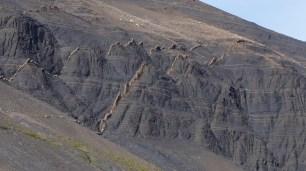 Formations rocheuses assez singulières