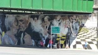 Fresque sous un pont