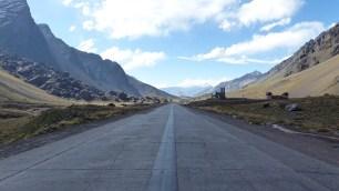Les paysages sont toujours aussi beaux dans les Andes