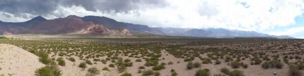 La région offre des paysages de canyons impressionnants