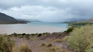 Le lac de Potrerillos