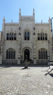Le cabinet royal de lecture, construit en 1837