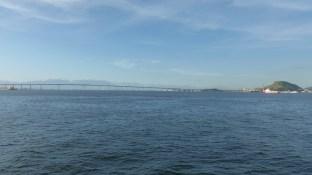 Le ponte Presidente Costa e Silva relie les rives Ouest et Est de la baie