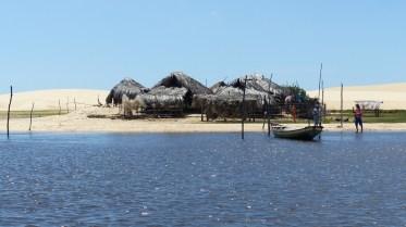 Les cabanes des pêcheurs en toit de chaume