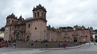 La cathédrale de Cusco