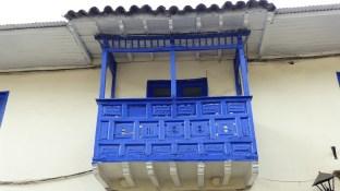 Joli balcon sur la Plaza Regocijo