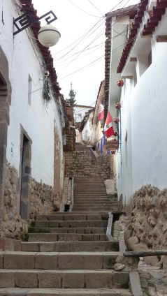 Ruelles du quartier bohème de San Blas