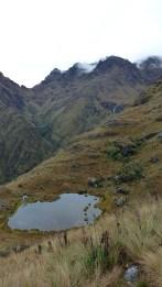 Quelques lacs émaillent le paysage