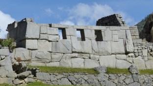 Vue extérieure du temple aux trois fenêtres