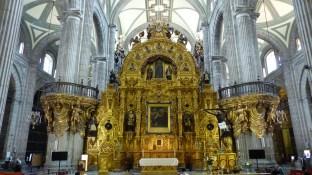 L'autel du Pardon, doré à la feuille