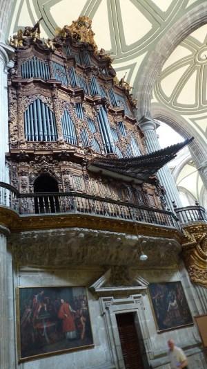 L'orgue monumental de la cathédrale