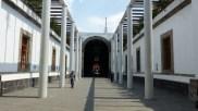 La Ciudadela, ancienne fabrique de tabac transformée en bibliothèque