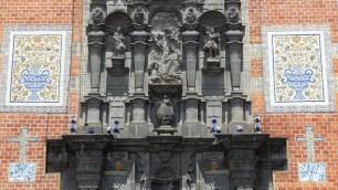 La façade de l'église de St-François d'Assises