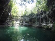 Cenote Xcanche, près d'Ek' Balam