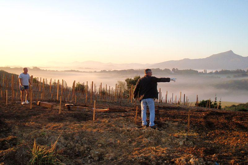 Emmanuel Poirmeur (EgiaTegia) : du vin sous la mer au Pays Basque - blog Les Grappes