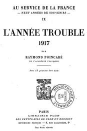 1932 Poincaré, Raymond L'Année trouble (1917) p0_wp