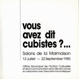 1985 - Vous avez dit cubistes p001_wp