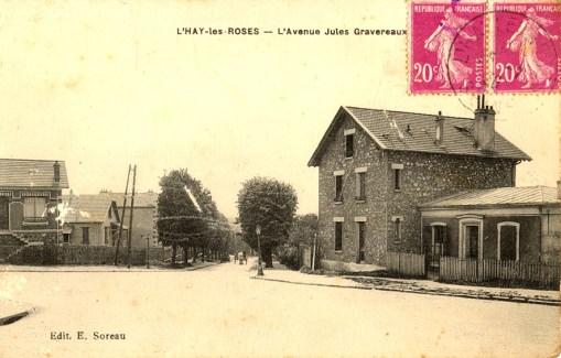 L'HAY-les-ROSES - L'Avenue Jules Gravereaux_wp