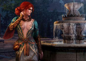 Трисс Мериголд в новом платье. Ведьмак 3: Дикая охота (The Witcher 3: Wild Hunt)