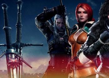 Геральт, Трисс Мериголд и Йеннифер. Ведьмак 3: Дикая охота (The Witcher 3: Wild Hunt)