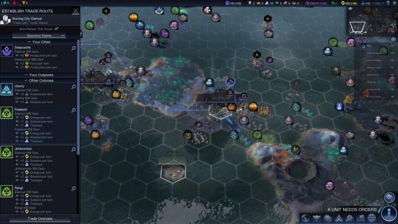 Civilization Beyond Earth — Можно получить титан через торговый караван когда есть договор о сотрудничестве