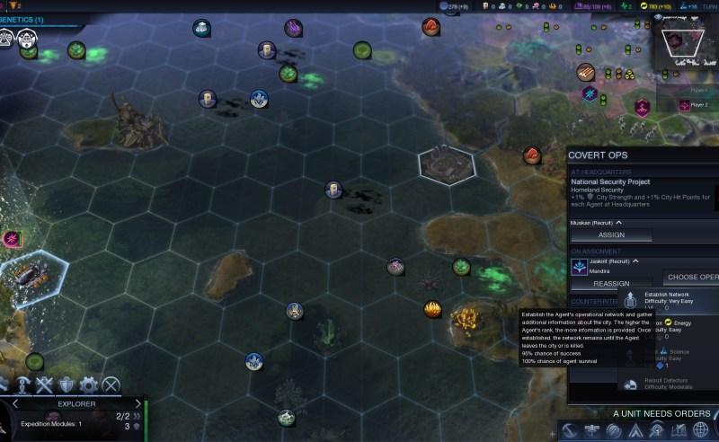 Civilization Beyond Earth — Тайные операции в городе