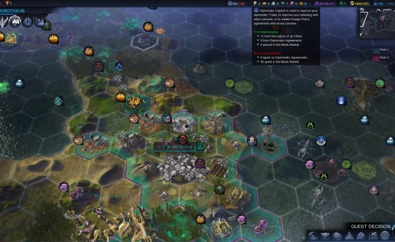 Civilization Beyond Earth — Очень черный рынок в начале игры