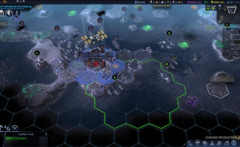 Civilization Beyond Earth — Чудо Зеркало бездны позволяет пересекаться спутникам