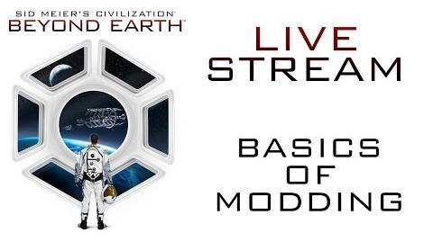 """Civilization Beyond Earth - Заглавная картинка """"Основы моддинга"""""""