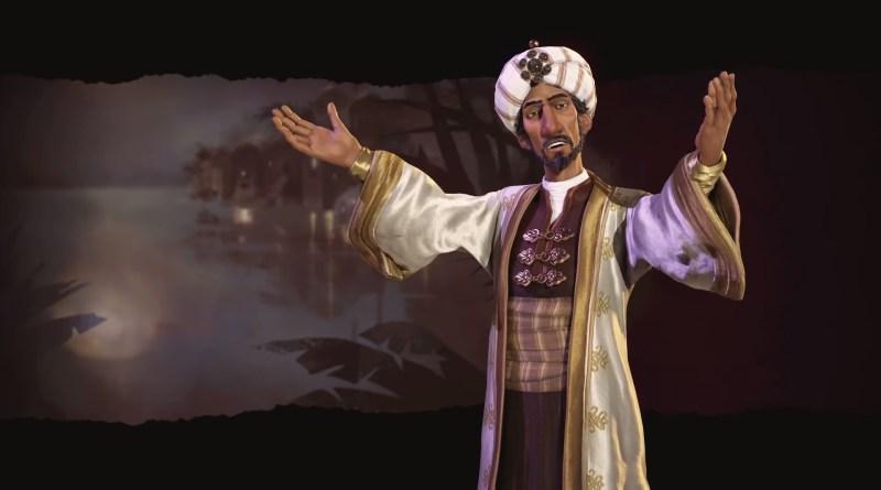 Civilization 6 - Саладин - Лидер Аравии