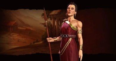 Горго - лидер Греции в Sid Meier's Civilization VI