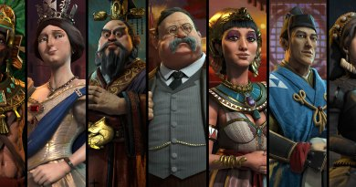 Все цивилизации в Sid Meiers Civilization VI