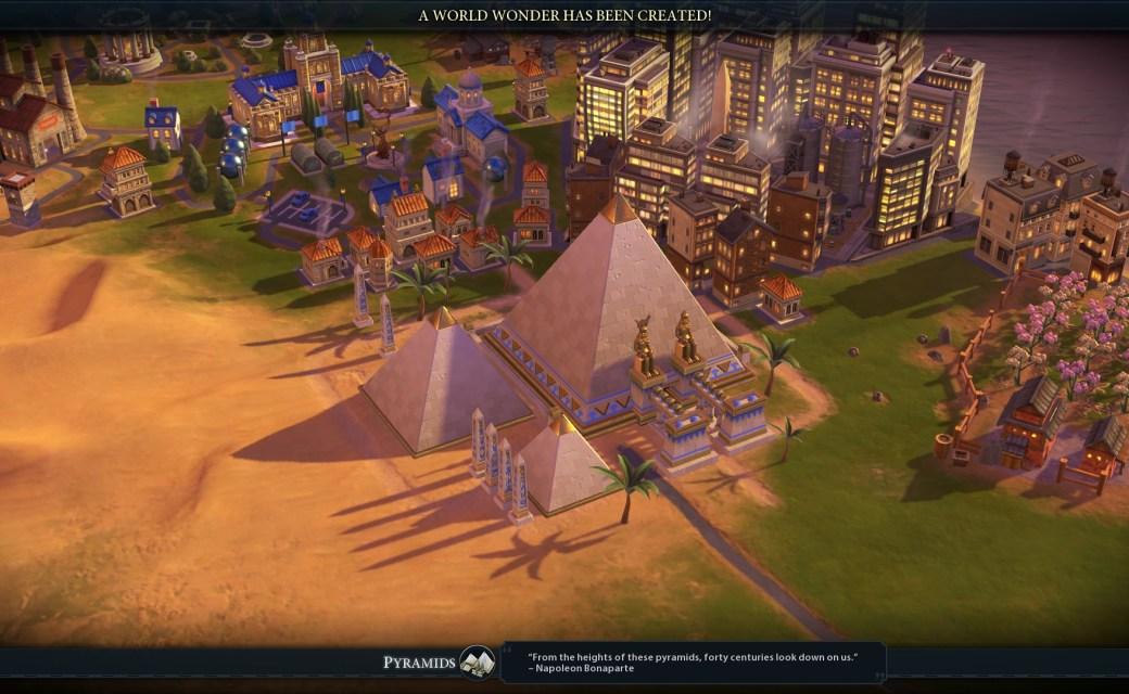 Civilization 6 — Чудо света — Пирамиды
