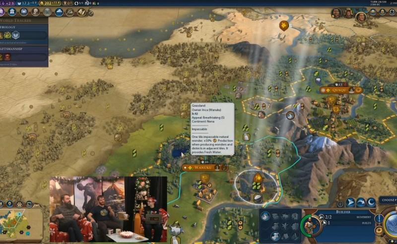 Civilization VI — Gathering Storm — Чудо природы «Ик-кил»