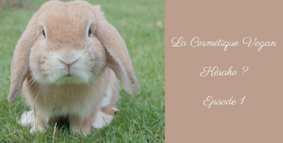 La cosmétique vegan expliquee par Les Happycuriennes, marque de cosmétique bio, épisode 1
