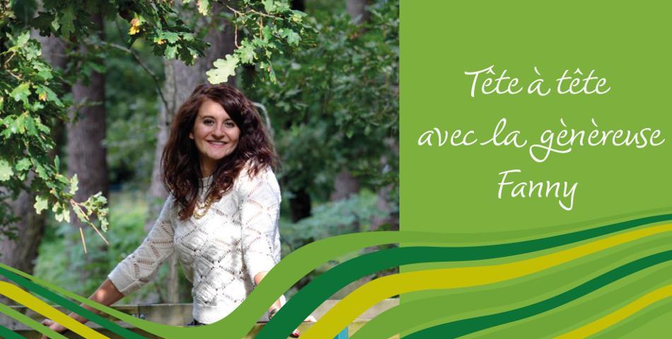 Portrait de Fanny blogueuse vegetarienne Les Petites choses de Fanny