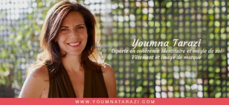 Youma Tarazi, experte en cogerence identitaire et magie de soi, vetement et image de marque